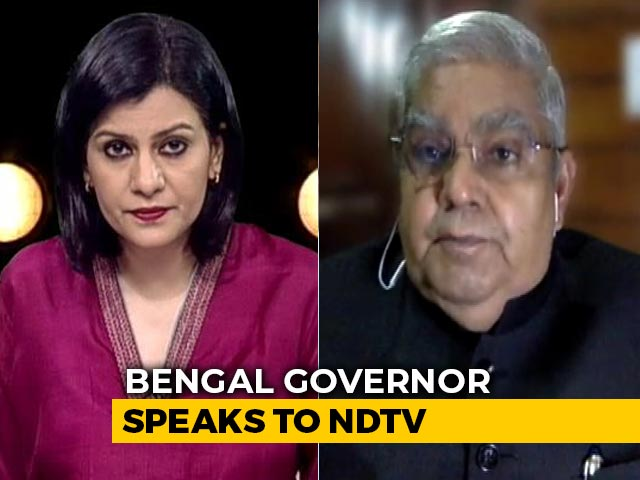 Video : Bengal Governor's Appeal To Mamata Banerjee Amid Coronavirus