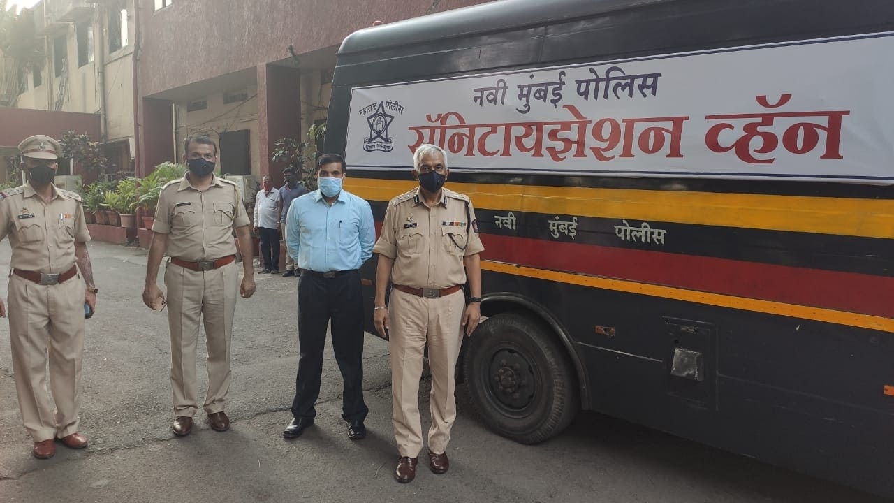 Coronavirus Pandemic: Mumbai Police Vans Turn Into Sanitisation Units