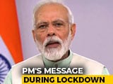 "Video : ""Light Candles, <i>Diya</i> On Sunday, 9 pm"" In Solidarity Amid Lockdown: PM"
