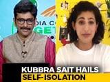 Video : Actor Kubbra Sait Is Enjoying The 'Refreshing Change' And Yoga With Malaika