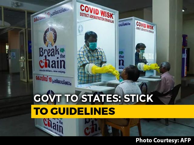 Video : Don't Dilute Lockdown, Centre Tells States, Calls Out Kerala