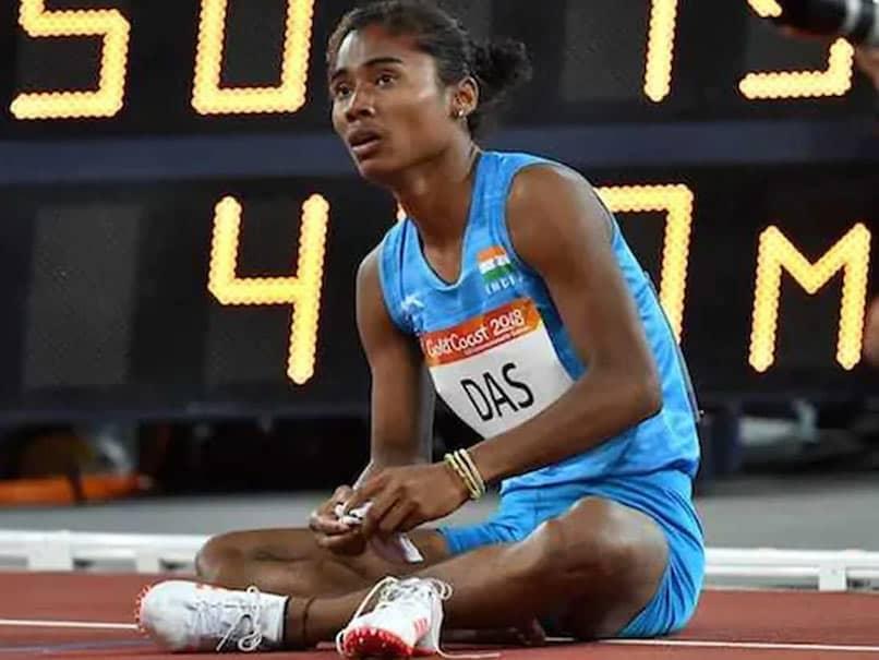 एथलीट हिमा दास का नाम खेल रत्न के लिए नामित और समिति के   लिए पैदा हो गया स्वीट पेन