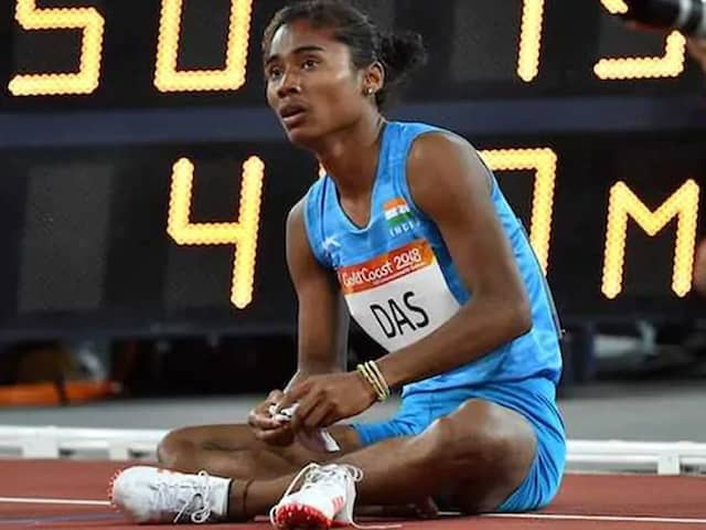 "Hima Das Says She ""Ended Up Crying"" After Meeting Role Model Sachin Tendulkar"