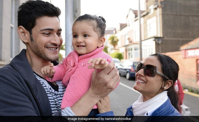 'Memory Therapy For The Soul': Namrata Shirodkar's Throwback Pic With Mahesh Babu And Sitara Is Just Too Cute
