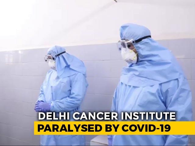 Video : Another Doctor, 11 Nurses Test Coronavirus+ At Locked Down Delhi Hospital