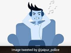 लॉकडाउन में बाहर घूमने वालों को जयपुर पुलिस की 'Warning', बोले- 'बाहर दिखे तो कमरे में बंद कर...'
