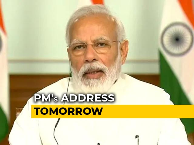 Video : PM Modi To Address Nation At 10 am Tomorrow As States Say Extend Lockdown