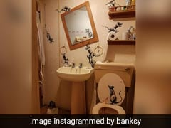 Banksy Reveals Latest Artwork In Lockdown. Here's What His Wife Thinks