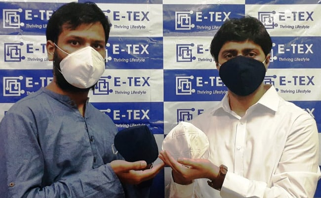 IIT Delhi Startup E-TEX Launches Affordable Face Mask, KAWACH