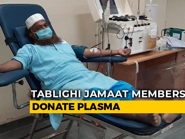 Video : After COVID-19 Recovery, 300 Tablighi Jamaat Members Sign Up To Donate Plasma