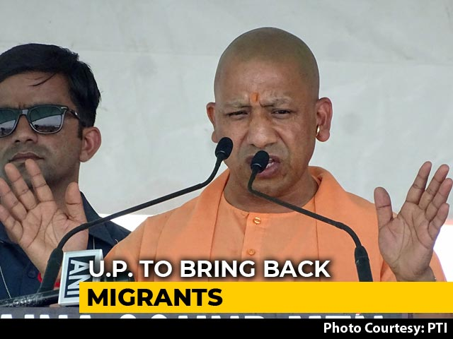 Video : UP To Bring Back Migrant Workers From Other States In Phases