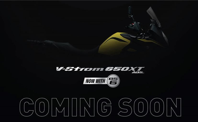 BS6 Suzuki V-Strom 650 XT is expected to be launched in India soon