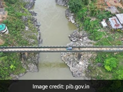 India's New Bridge On China Border Can Take 40 Tons Of Weight