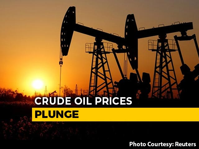 Video : US Oil Prices Collapse, Plunge Below $0 Per Barrel