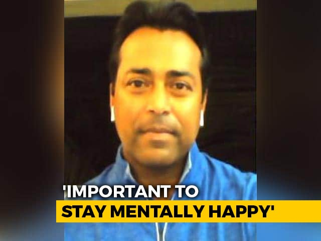 Video : Leander Paes Stresses On Mental Health, Suggests Household Chores For Physical Fitness