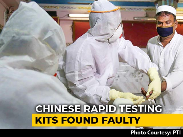 Video : Chinese Rapid Test Kits For COVID-19 Faulty, Say States