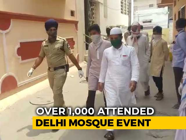 Video : COVID-19: Huge Contact-Tracing Exercise Linked To Delhi Mosque Event