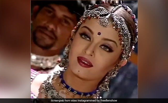This Video Of Aishwarya Rai Bachchan From The Sets Of An -1429