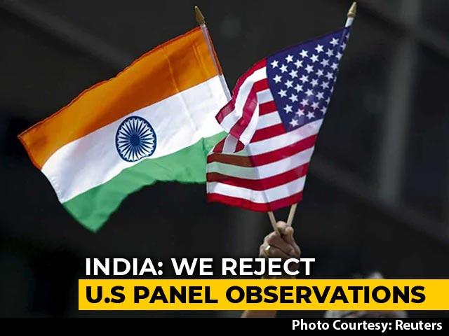 "Video : ""New Levels Of Misrepresentation"": India Snubs US Religious Freedom Panel"