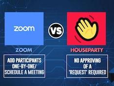 Zoom Vs Houseparty