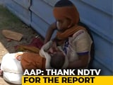 "Video : ""Very Upset"": Delhi MLA Sends Relief After Report On Starving Migrant Mom"