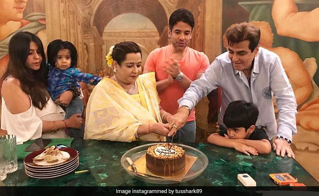 Inside Jeetendra's 'Quiet But Special' Birthday Celebrations With Grandsons Ravie And Laksshya