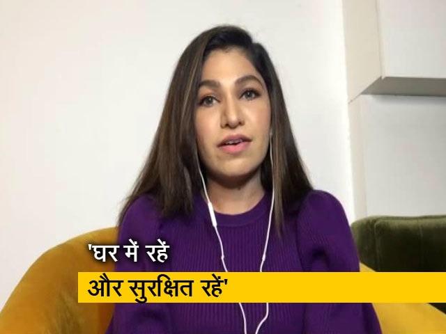 Video : हमारे लिए अपने जीवन को जोखिम में डालने वाले सभी हीरो हैं : तुलसी कुमार