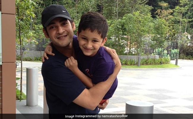 Mahesh Babu Goofing Around With Son Gautham In This Throwback Pic Is Dad Goals