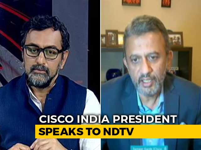 Video : CISCO India President Talks About How Tech Companies Are Tackling COVID-19
