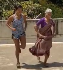 Milind Soman's Mom, 81, Working Out With Ankita Is New Level Of Coolness