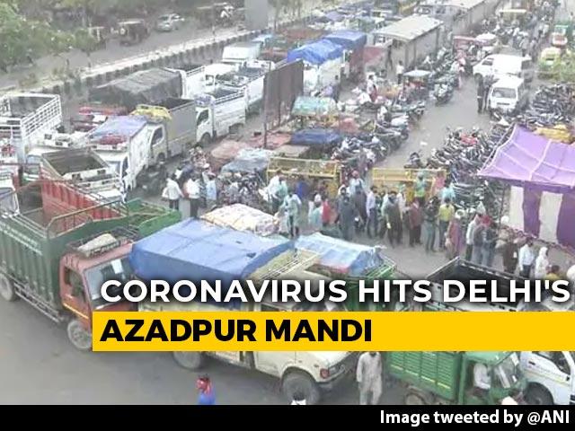 Video : 300 Shops Shut In Delhi's Biggest Vegetable Market After COVID-19 Death