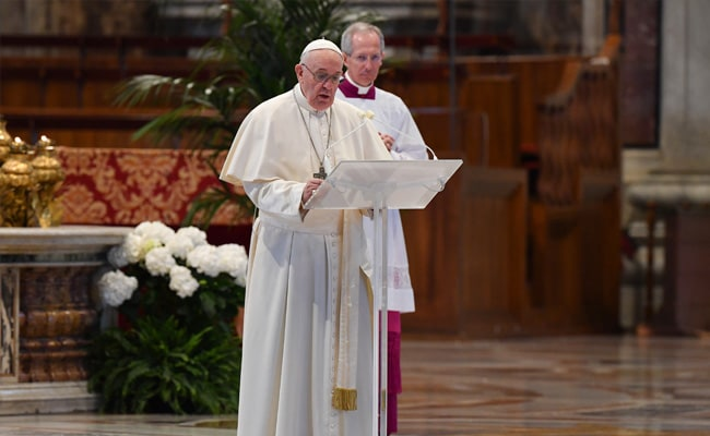 Pope Calls For Action To 'End Pandemic Of Poverty' After Coronavirus