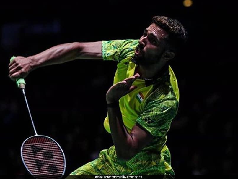 HS Prannoy Apologises To Badminton Association Of India For His Outburst