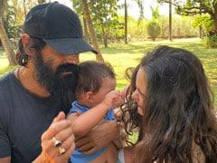 Arjun Rampal And Girlfriend Gabriella Demetriades' Family Pic With Son Arik Is Too Cute