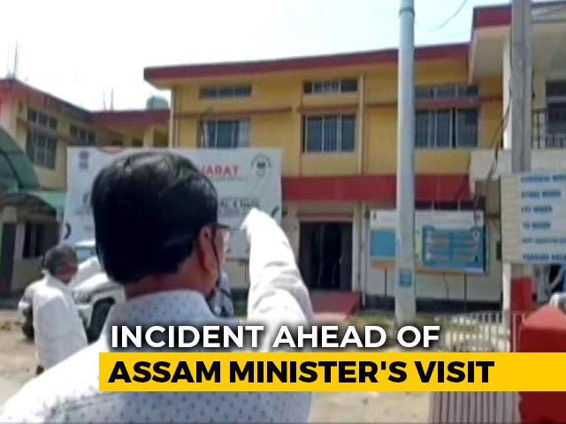 "Video : Assam Coronavirus-Infected Man Met 111, Search For ""Silent Carrier"" On"