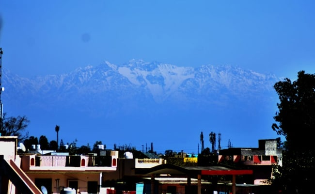 Jalandhar Sees Snow-Capped Himachal Mountains For First Time In Decades