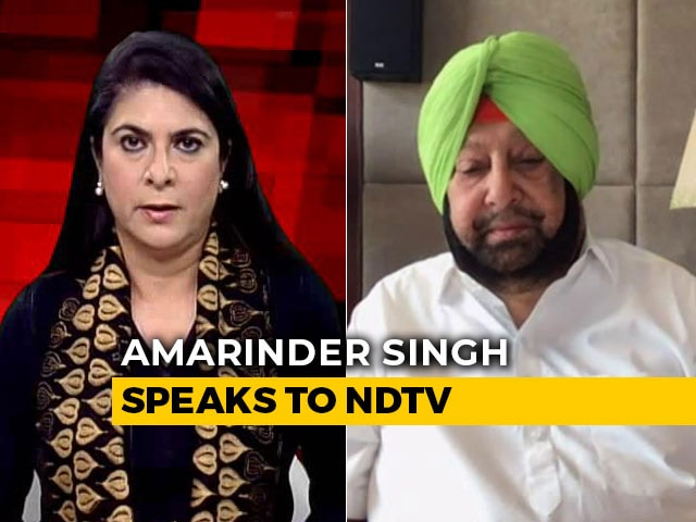 Video : Punjab Chief Minister Compares COVID-19 Crisis To World War II