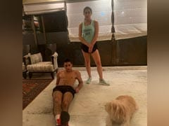 """Knock Knock. Who's There?"" Not Sara Ali Khan And Ibrahim. They Are Busy Working Out"