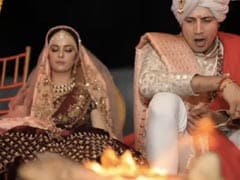 Unseen Pic Of Ekta Kaul And Sumeet Vyas From Their Wedding Will Crack You Up