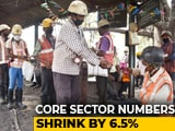 Video : Core Sector Output Contracts By 6.5% In March