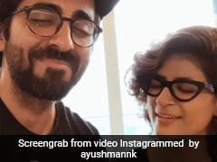 आयुष्मान खुराना ने पत्नी ताहिरा कश्यप के साथ खेला रैपिड फायर, बताया कौन है ज्यादा अच्छा Kisser, देखें Video
