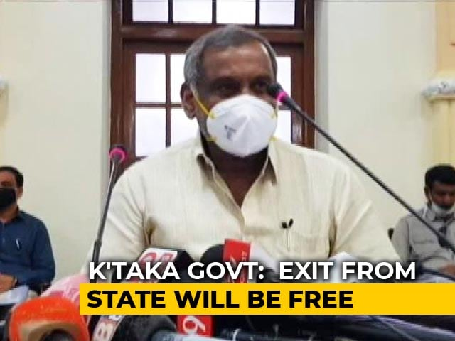 Video : Karnataka To Allow Inter-State Movement For Students And Migrant Workers