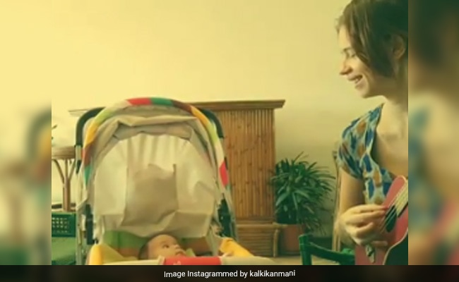 Kalki Koechlin Singing A Portuguese Lullaby To Baby Daughter Sappho Will Make Your Day