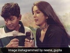 नीना गुप्ता ने शेयर की अपनी खूबसूरत Throwback Pic, लिखा- ''जब प्रधान और प्रधान की पत्नी...''