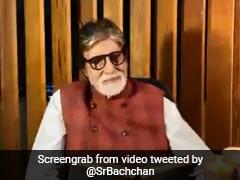 अमिताभ बच्चन को आई बाबूजी हरिवंश राय बच्चन की याद, उन्हीं के अंदाज में गाई कविता... देखें Video