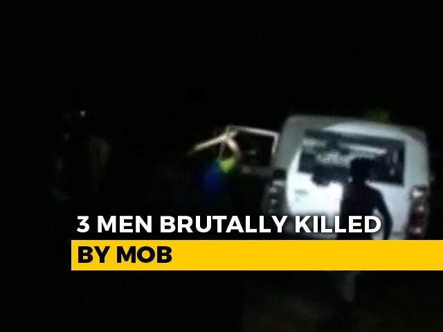 Video : 3 Men Brutally Killed By Mob In Maharashtra's Palghar, Police Arrest 110