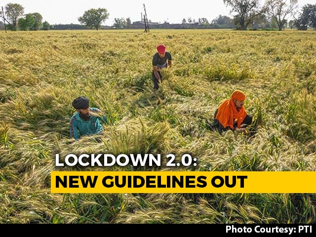Video : Lockdown Guidelines: Agriculture, Select Activities Allowed From April 20