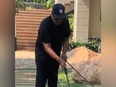Chiranjeevi Is Also In Lockdown Cleaning Mode. See What He Posted