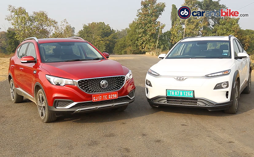 The Hyundai Kona Electric and MG ZS EV are the latest EV launches in India.