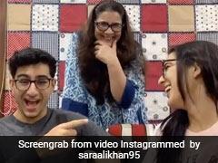 'Who's The Craziest': Sara Ali Khan, Amrita Singh And Ibrahim Ali Khan Answer